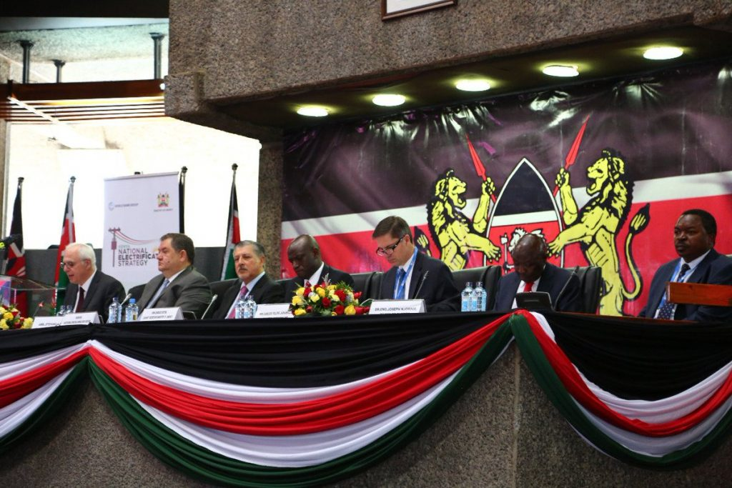@danielmaithyake's cover photo for 'Kenya National Electrification Strategy Launched'