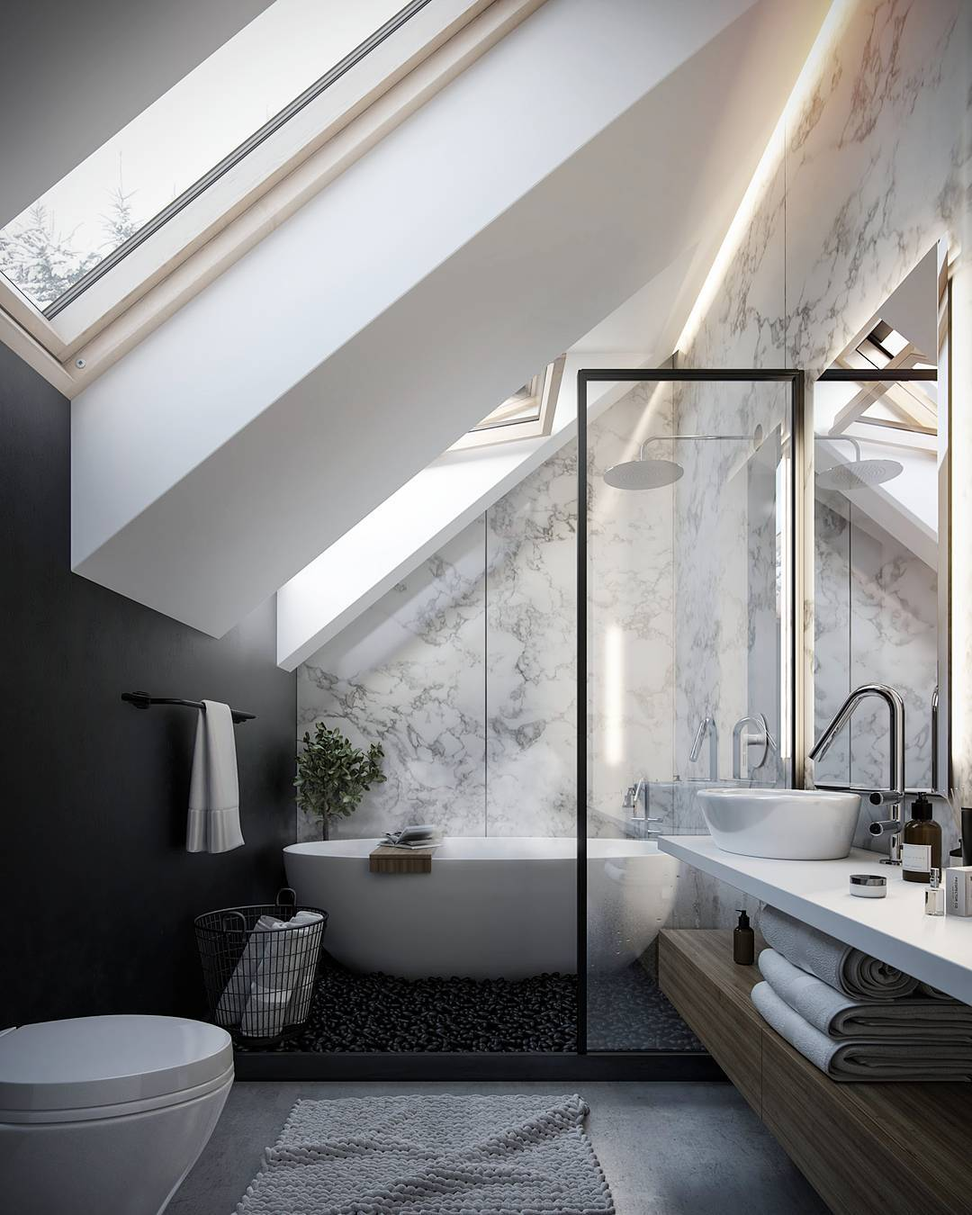 """@anna__potapenko's cover photo for 'Anna Potapenko on Instagram: """"That's final! Enough for that project! ))) 🎉😁🙈 #houzzrender #render_contest #instarender #rendercollective #renderizer #cgartistlab…""""'"""