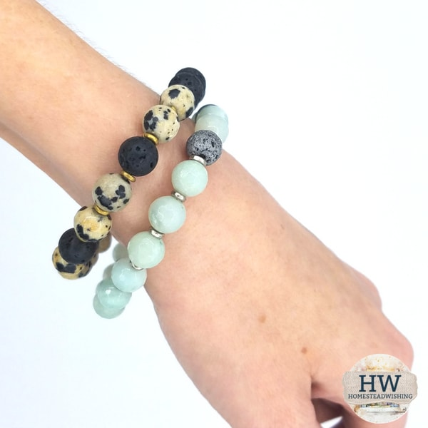 @homesteadwishing's cover photo for 'Diffuse Essential Oils Everywhere You Go - Essential Oil Bracelet'
