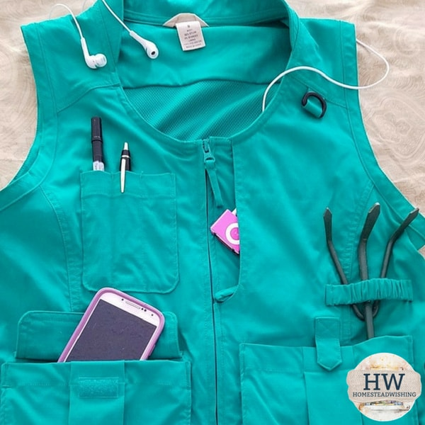 @homesteadwishing's cover photo for 'What to Wear While Gardening - Gardening Clothes'
