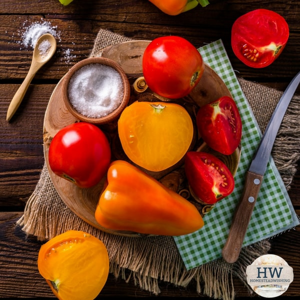 @homesteadwishing's cover photo for '5 Ways to Eat Fresh Food All Year Long - Even if you don't have a large garden'