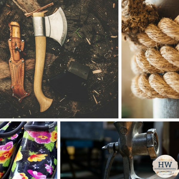 @homesteadwishing's cover photo for '5 Homesteader Must Haves'