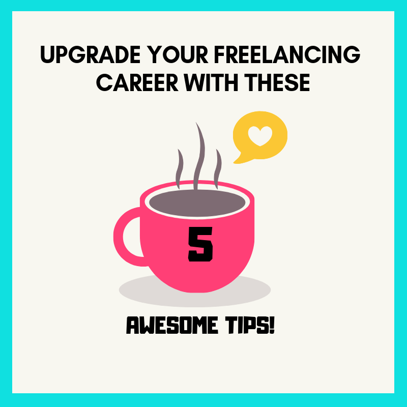 @gingerarboleda's cover photo for 'Upgrade your Freelancing Career With 5 Awesome Tips - Mommy Ginger'