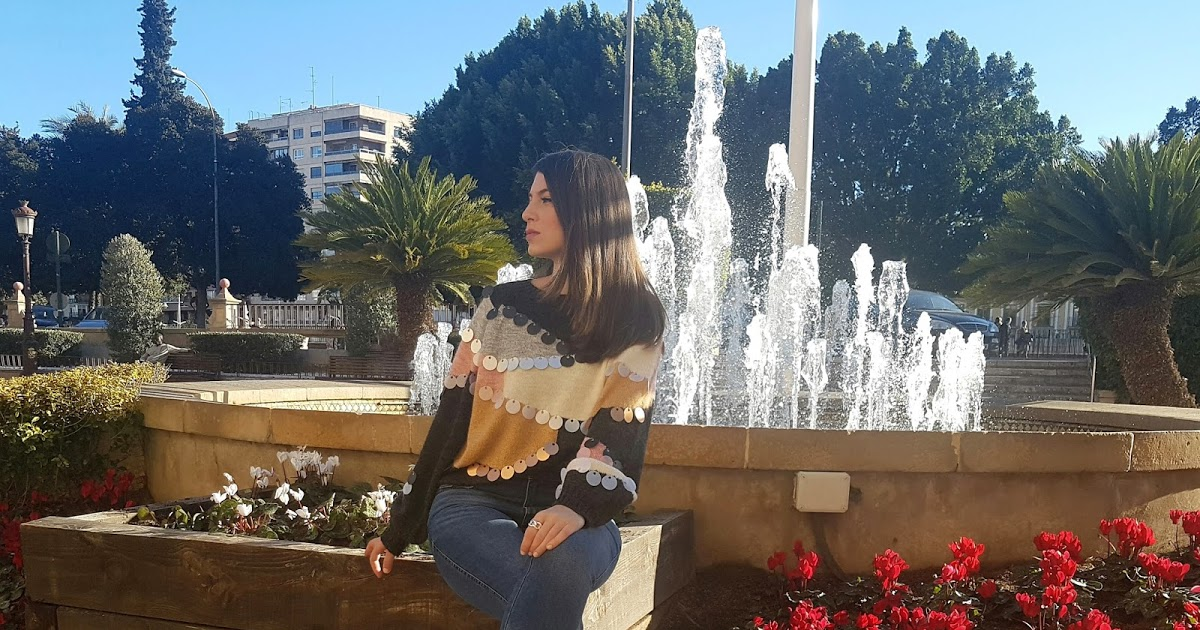 @algo_pasa_con_mery's cover photo for 'LOOK DE MODA  -JERSEY LENTEJUELAS-  SHEIN 12/02/2018'