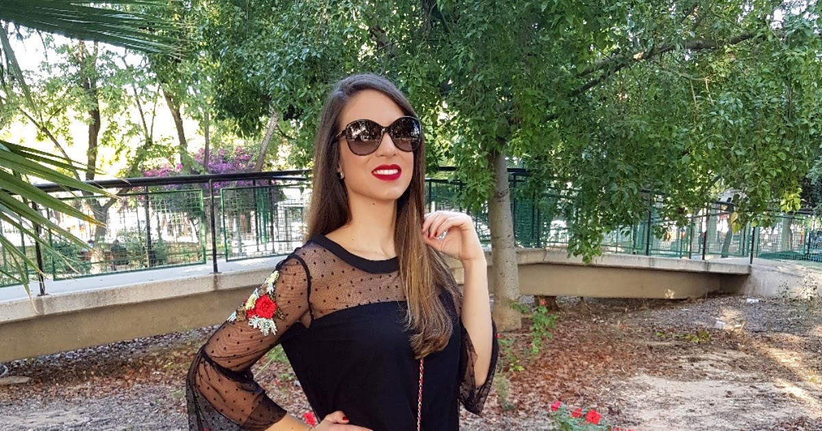 @algo_pasa_con_mery's cover photo for '-LOOK DE MODA- Trend Plumeti  Black & Red.'