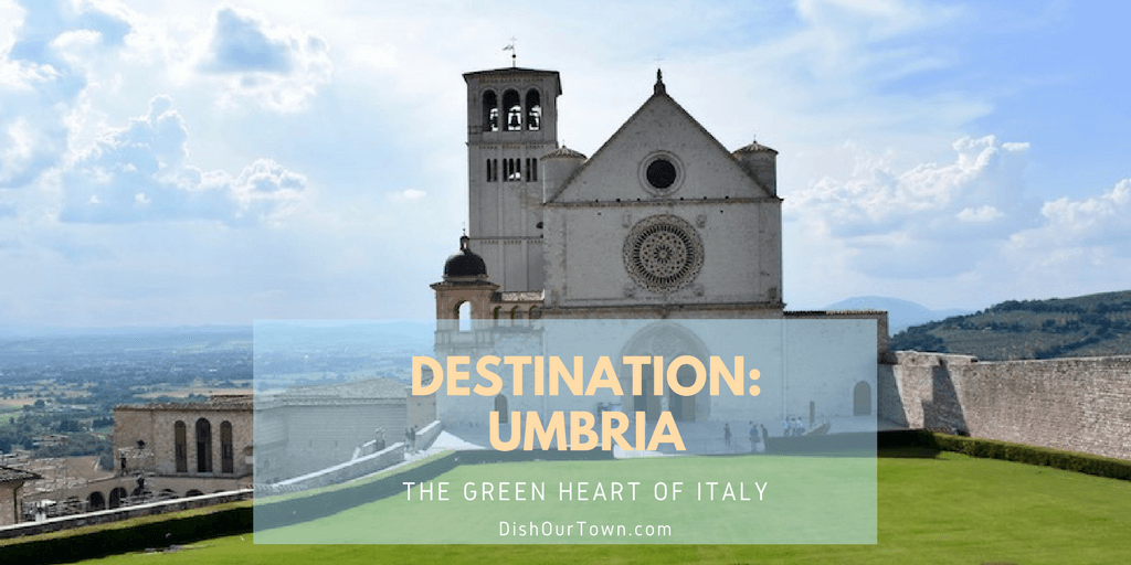 @dishourtown's cover photo for 'Everything you need for your travels to Umbria.'