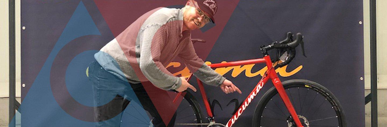 @cyclingclaude's cover photo for 'CyclingOlli - heimlich verliebt? - CyclingClaude ... in das Cucuma Casca %'