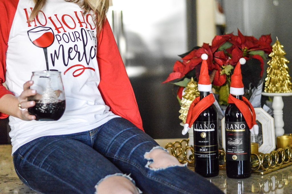 @adoremorewithgeor's cover photo for 'Cheers to the Holidays with Llano Estacado | Adore More with Geor'