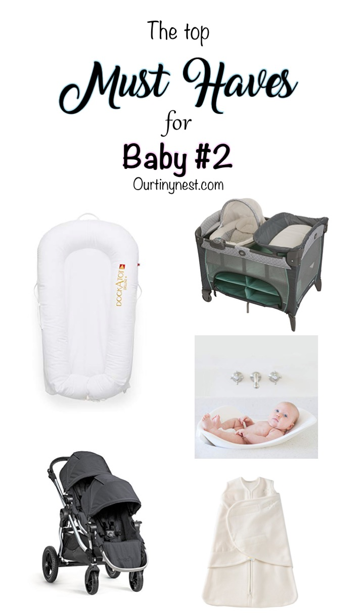 @ourtiny_nest's cover photo for 'Must haves for your second baby from a second time mom - Our Tiny Nest'