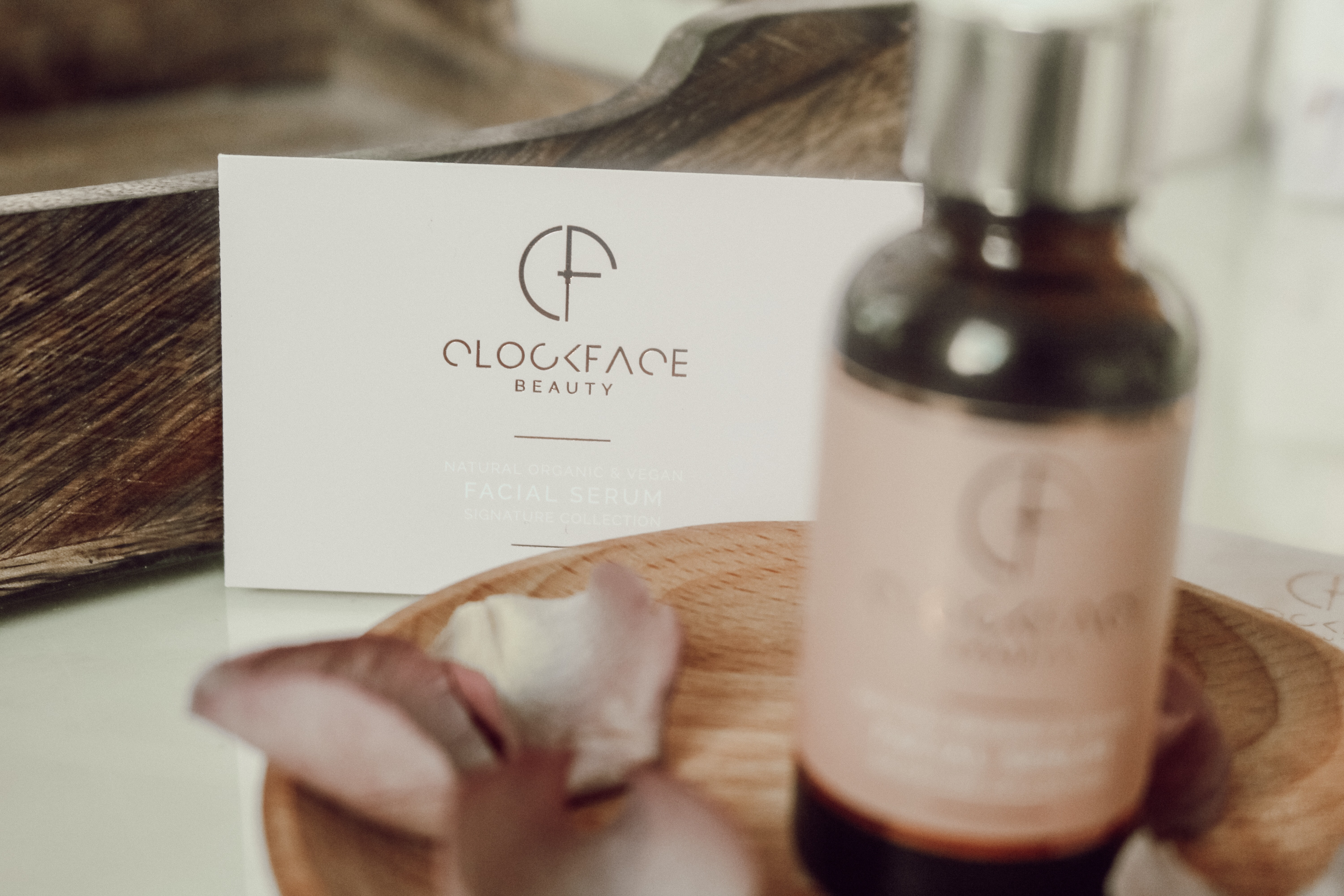 @arainydayphotography's cover photo for 'CLOCKFACE BEAUTY / ETHICAL SKINCARE REVIEW'