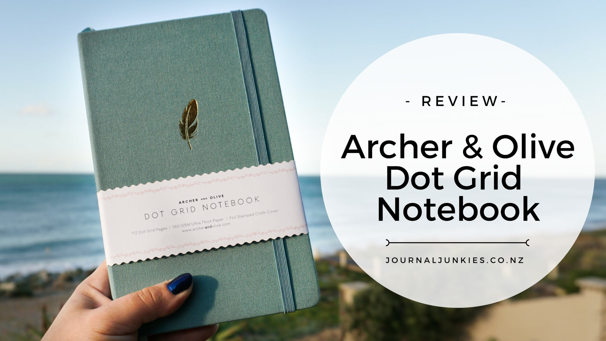 @journal_junkies's cover photo for 'Archer and Olive Dot Grid Notebooks - Fast Shipping within NZ'
