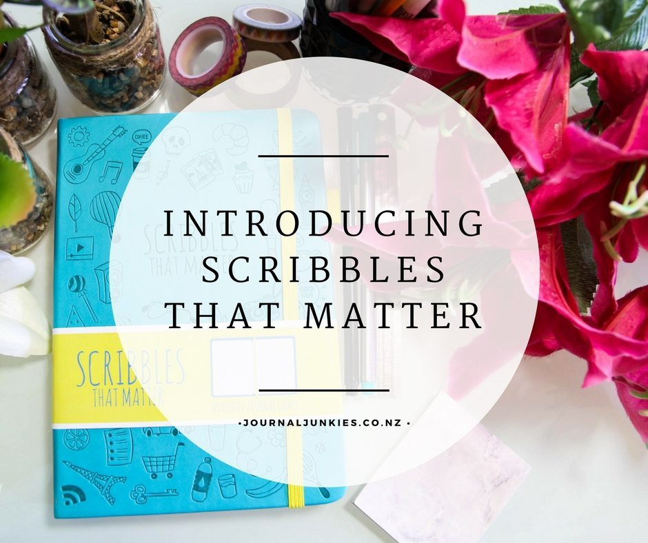 @journal_junkies's cover photo for 'Scribbles That Matter Dotted Notebook - Journal Junkies'
