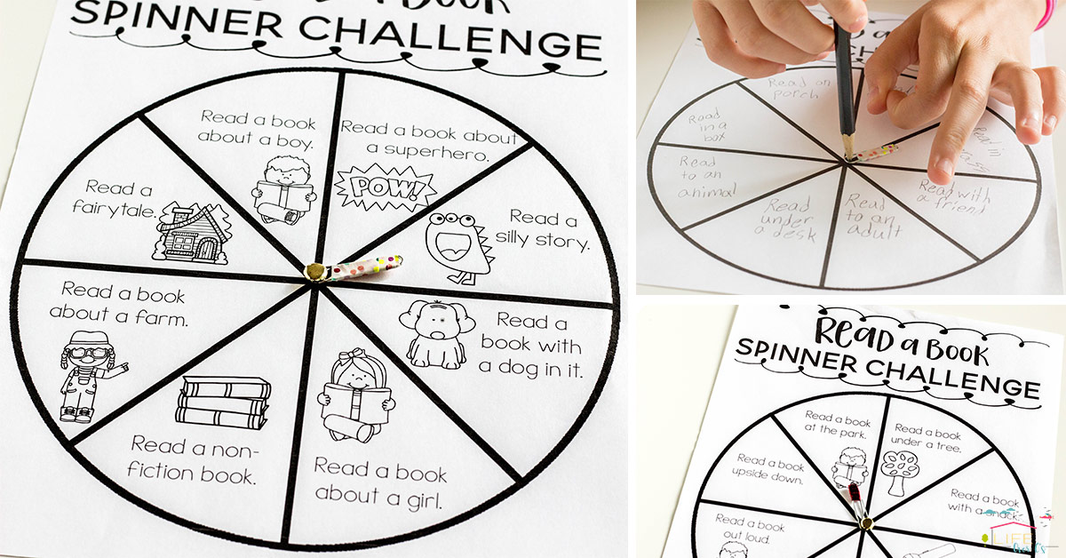 @lifeovercs's cover photo for 'Kids will LOVE this spinner reading challenge!'