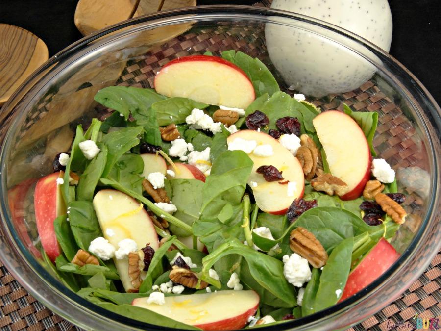 @bullocksbuzz's cover photo for 'Fresh Fall Salad with Creamy Poppy Seed Dressing'