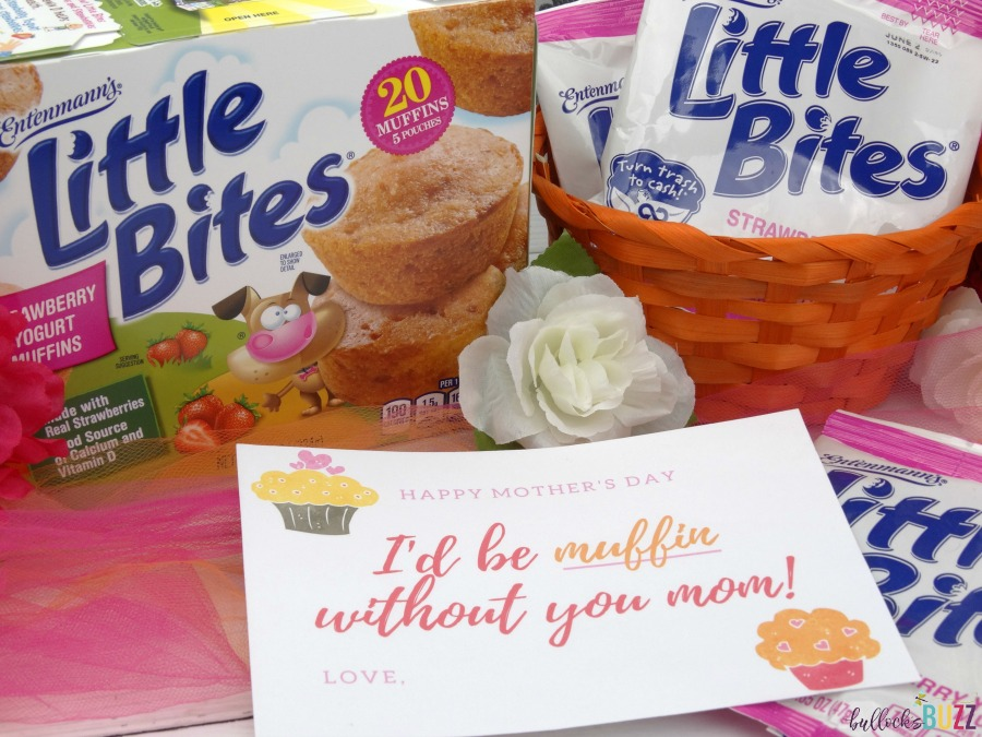 @bullocksbuzz's cover photo for 'Free Printable Mother's Day Card and Gift Idea - I'd Be Muffin Without You!'