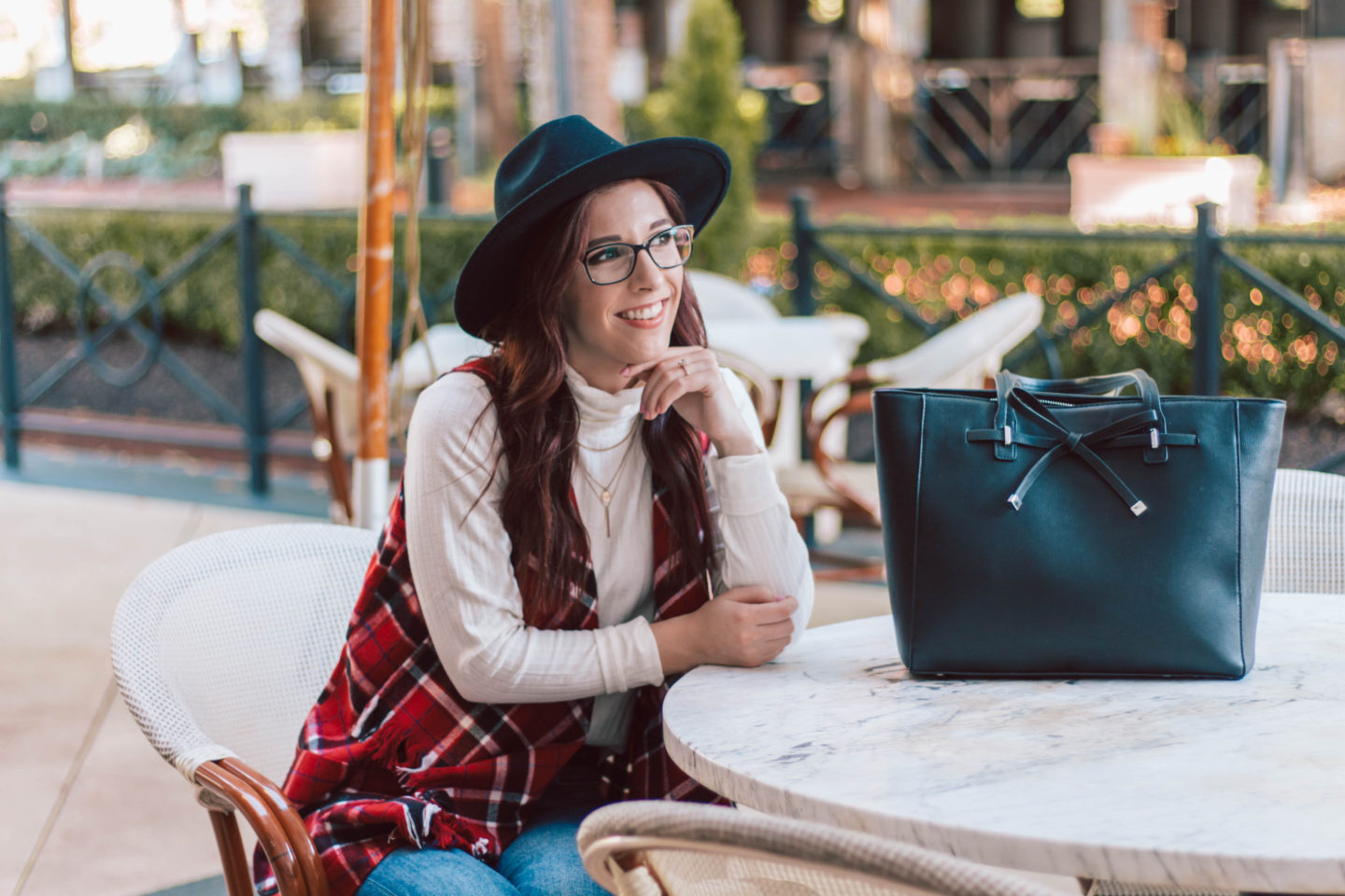 @shesawstyle's cover photo for 'A Plaid Vest That Can Transform Your Look | She Saw Style'
