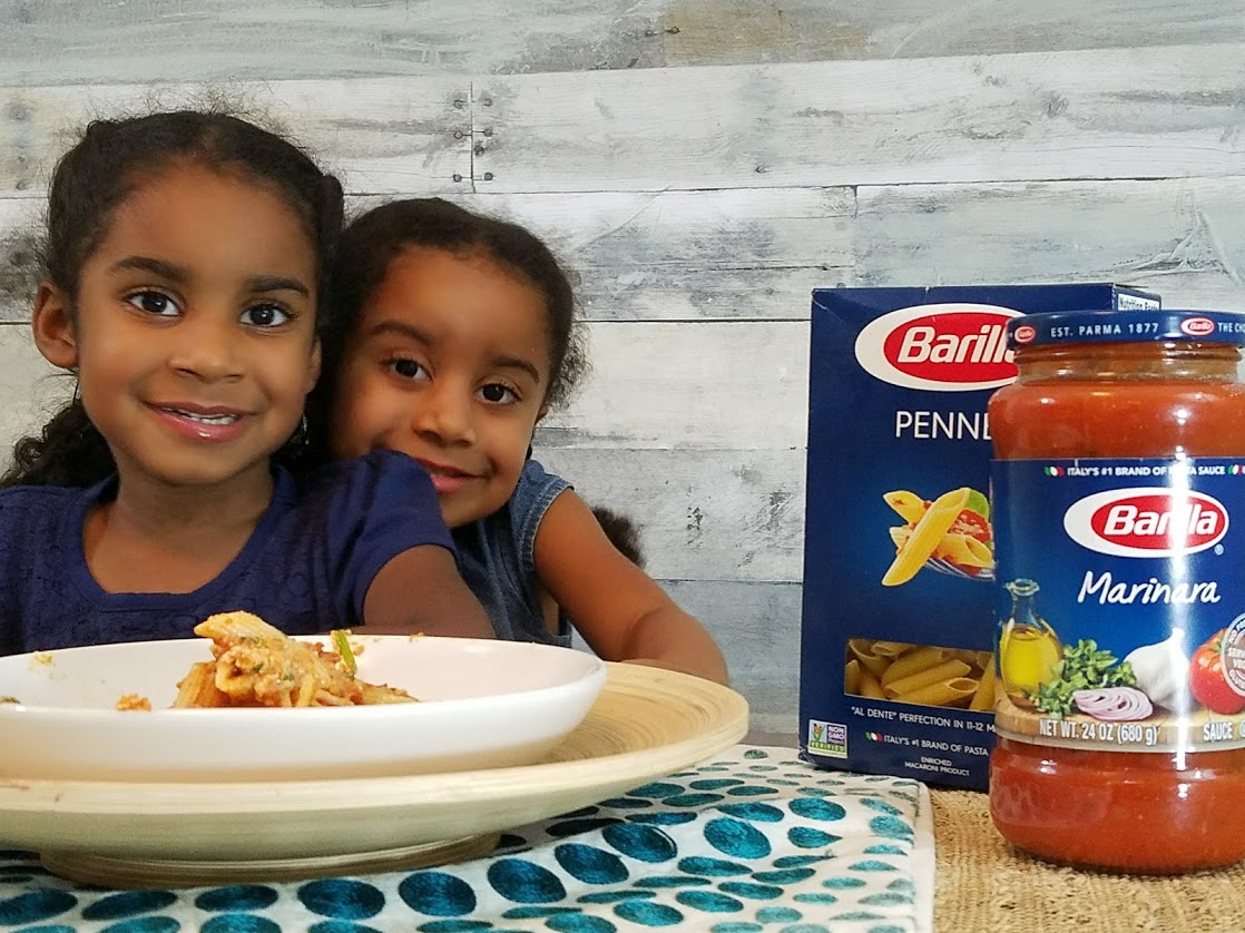 @intofatherhood's cover photo for 'Creating Strong Daughters with Barilla® Blue Box Pasta'