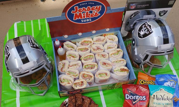 @mantripping's cover photo for 'Plan the Ultimate Tailgate Party with Jersey Mike's and FanHeads'