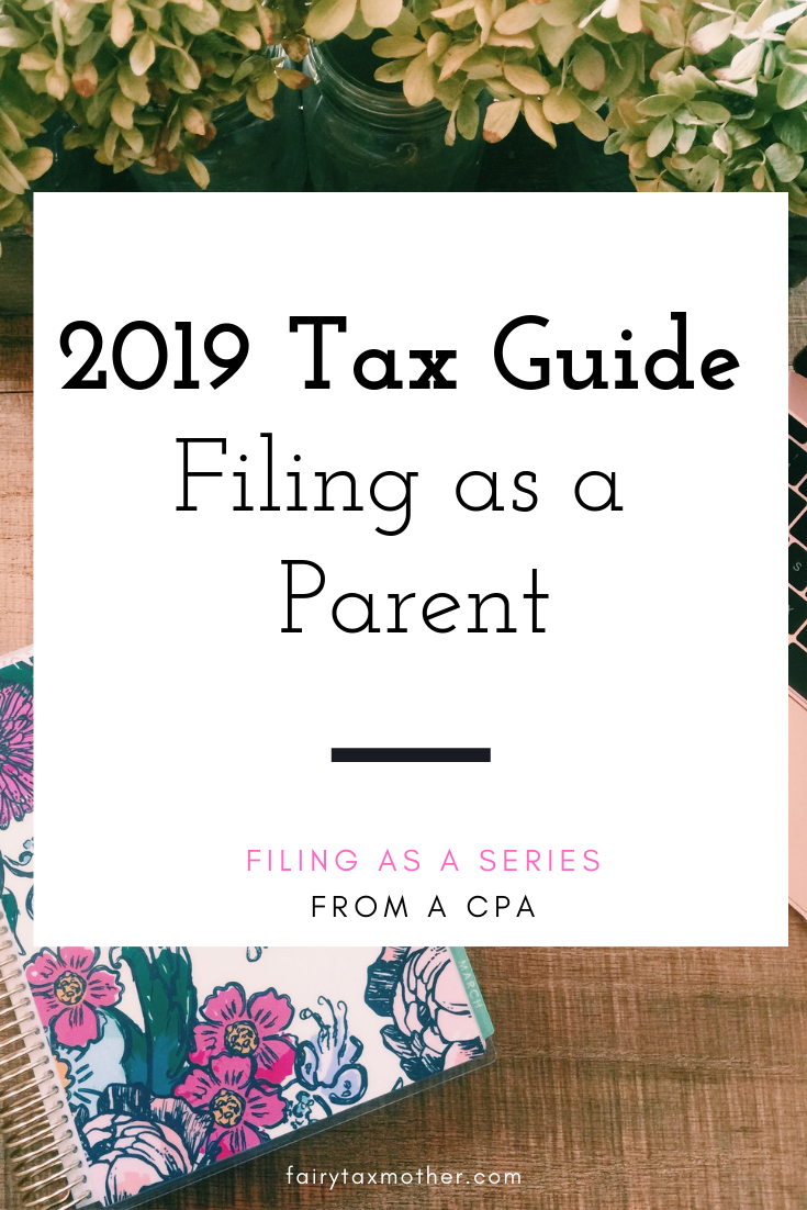 @paigensmithcpa's cover photo for 'Filing as a Parent - Fairy Tax Mother'