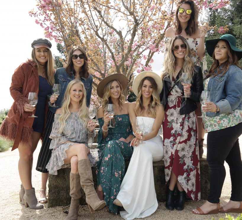 @tenleymolzahn's cover photo for 'Tenley's Wedding Planning Series: Sonoma Bachelorette Weekend Part 2 - Tenley's Sweet & Free Life'
