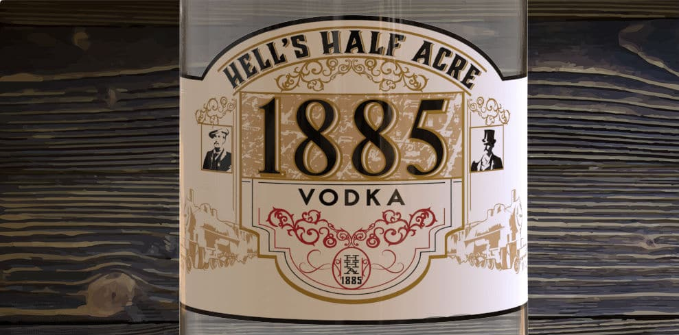 @safeproof's cover photo for 'Hell's Half Acre Organic Vodka Made Better - SafeProof Member'