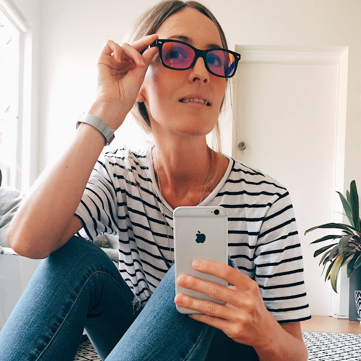 @stayinghealthywithms's cover photo for 'Blue light blocking glasses to encourage restful SLEEP'