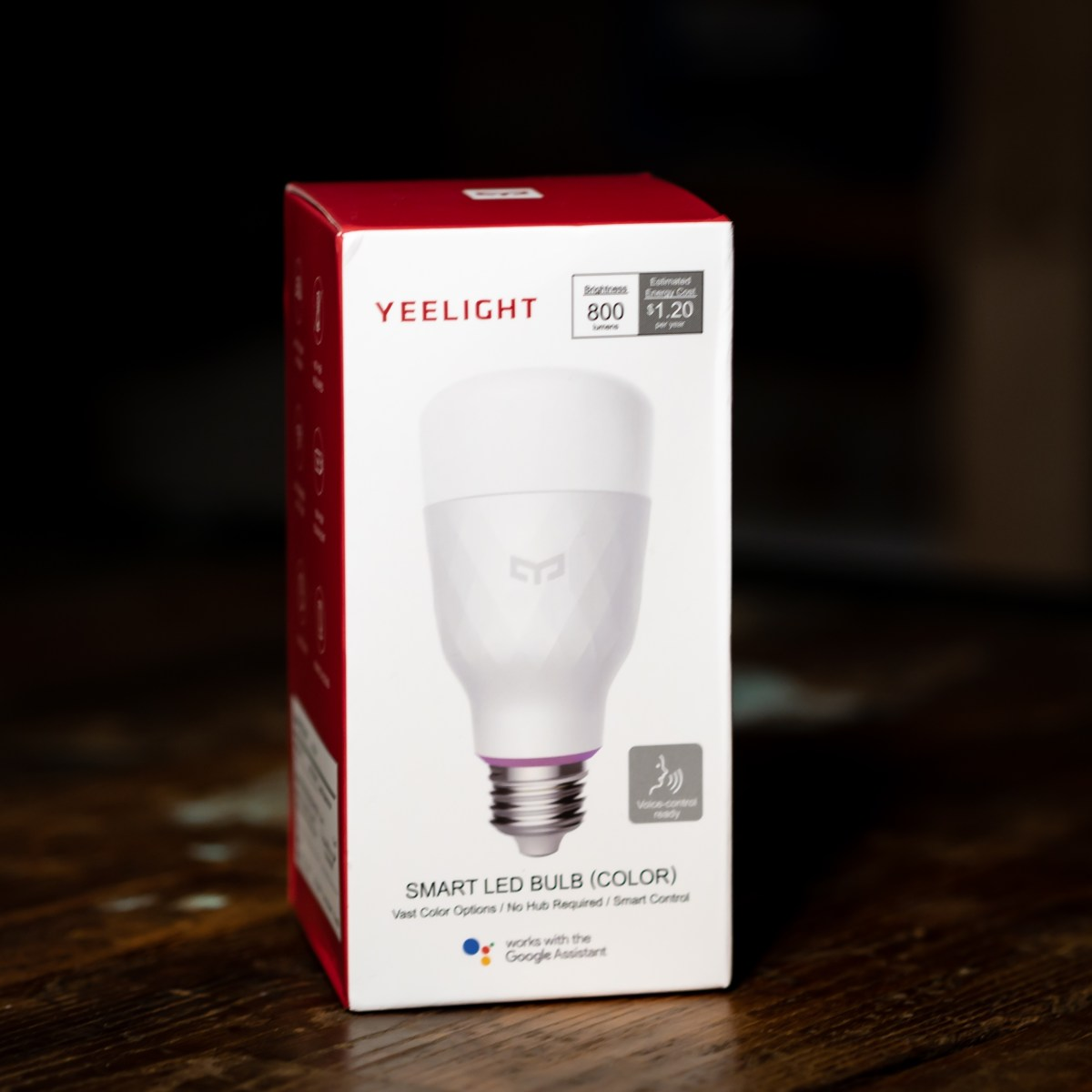 @zacbuilds's cover photo for 'Yeelight Smart LED Color Bulb Review'