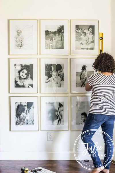 @juleeireland's cover photo for 'How to Make the Perfect Art Gallery Wall | Julee Ireland'