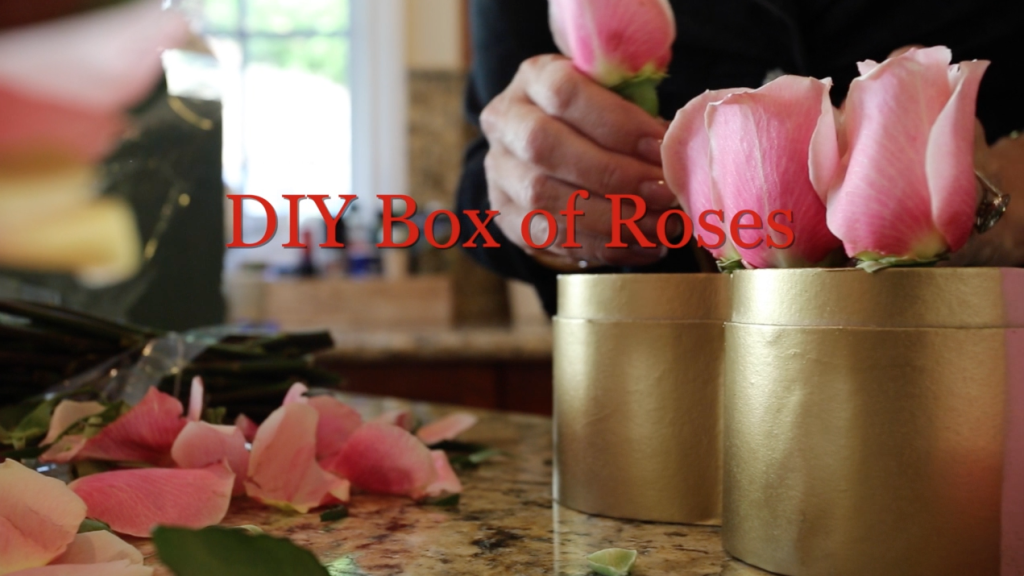 @juleeireland's cover photo for 'DIY on the FLY Box of Roses | Julee Ireland'