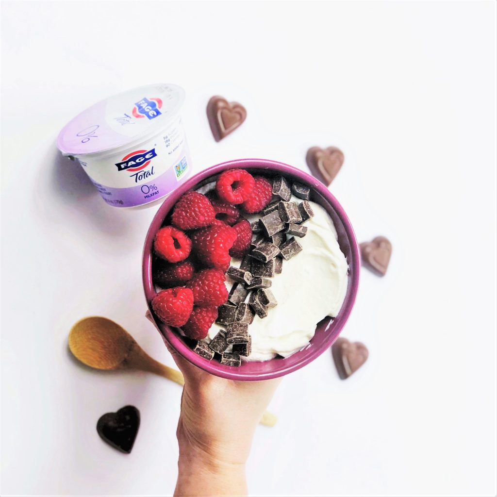 @plumstreetcollective's cover photo for 'Raspberry Chocolate Yogurt Bowls - Plum Street Collective'