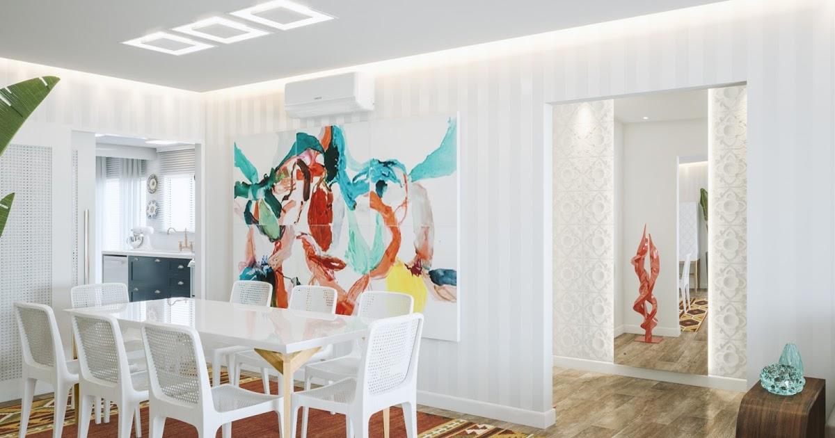 @sua_nova_casa's cover photo for 'Jantar e Living com home theater integrados'