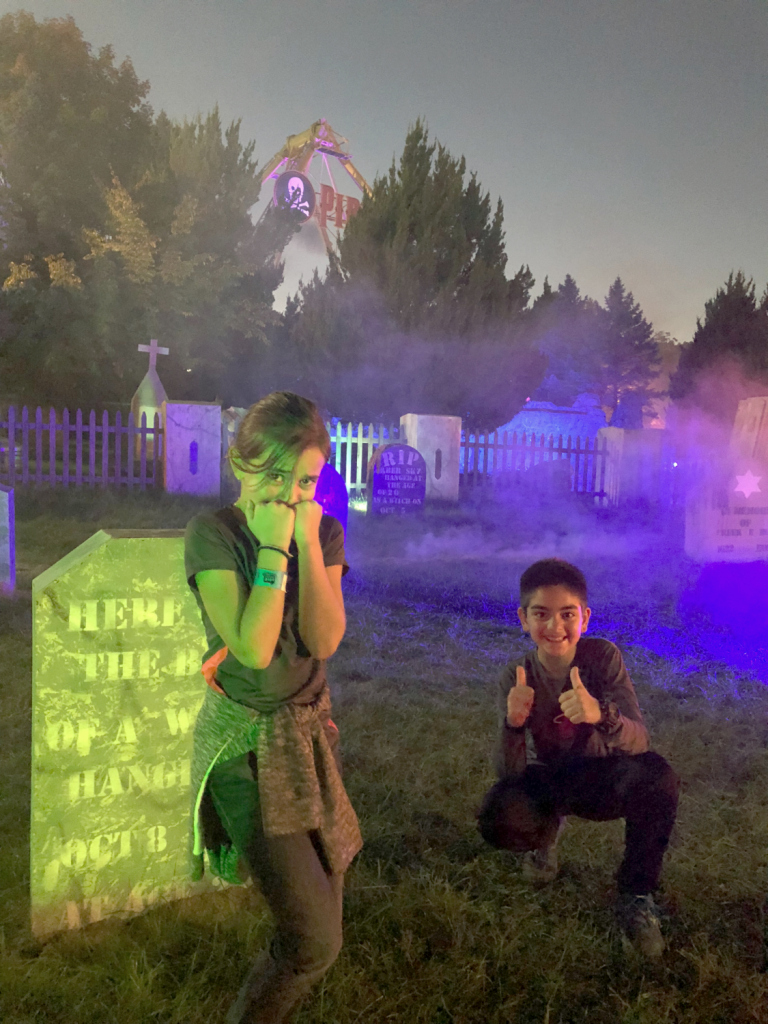 @dqfamilytravel's cover photo for 'Why You Should Visit the Haunted Graveyard at Lake Compounce - DQ Family Travel'