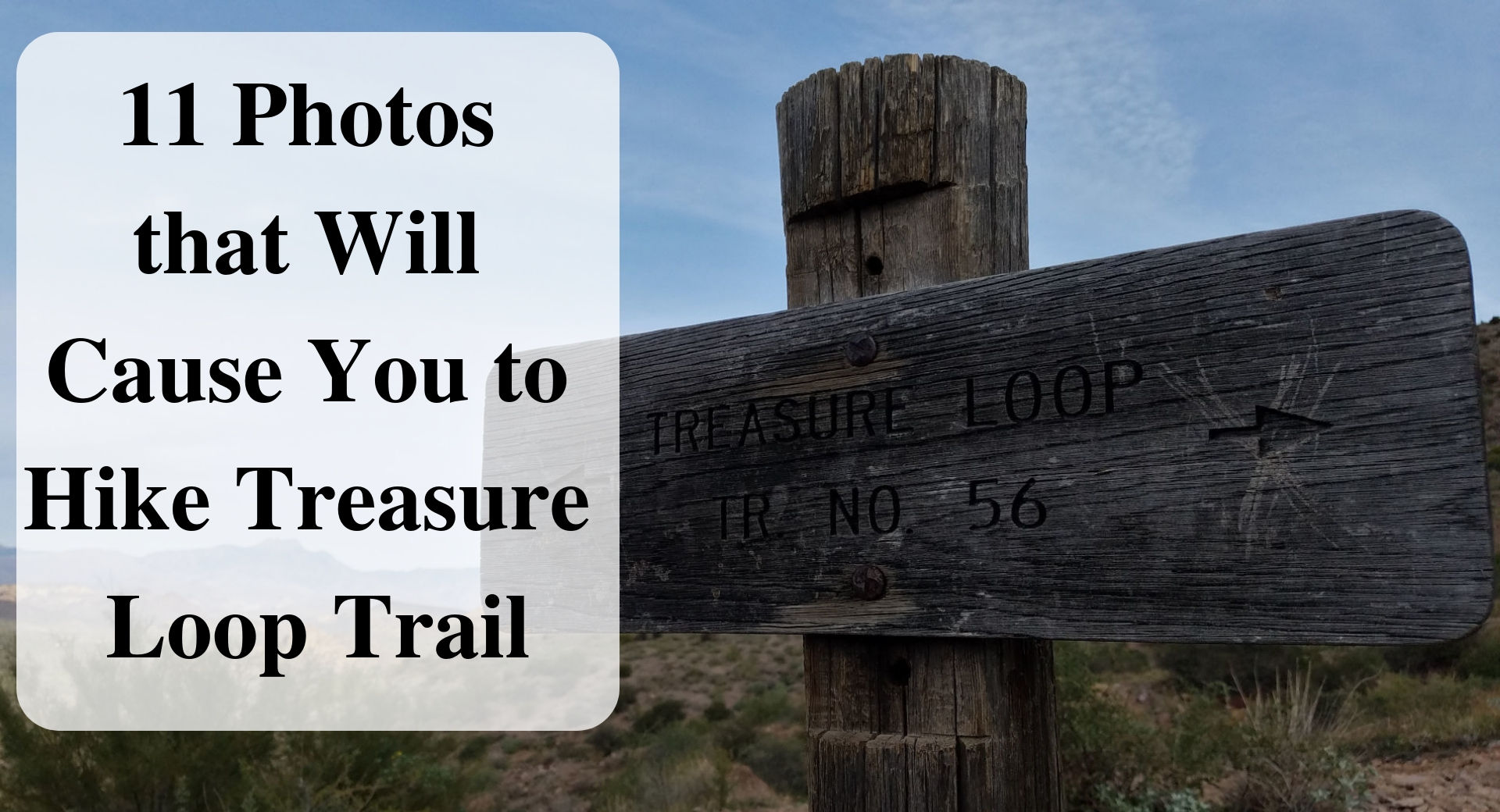 @forever_sabbatical's cover photo for '11 Photographs that Will Cause you to Hike Treasure Loop Trail at Lost Dutchman State Park in The Superstition Mountains - Forever Sabbatical'