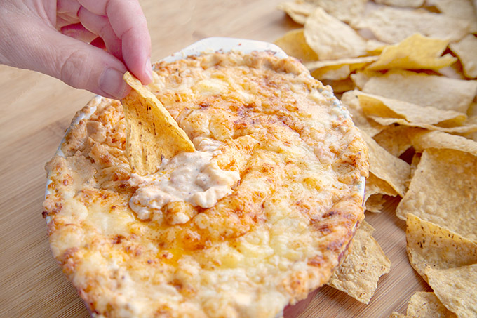 @askchefdennis's cover photo for 'Creamy Cheesy Cheddar Lobster Dip Recipe - Chef Dennis'