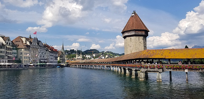 @askchefdennis's cover photo for 'Why You Should Visit Lucerne Switzerland - Chef Dennis'