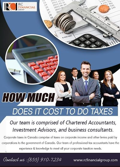@rcfinancialgroup's cover photo for 'If you look at your tax situation and conclude that professional tax help will benefit you, a tax accountant | Tax Preparation Fees | Pinterest'