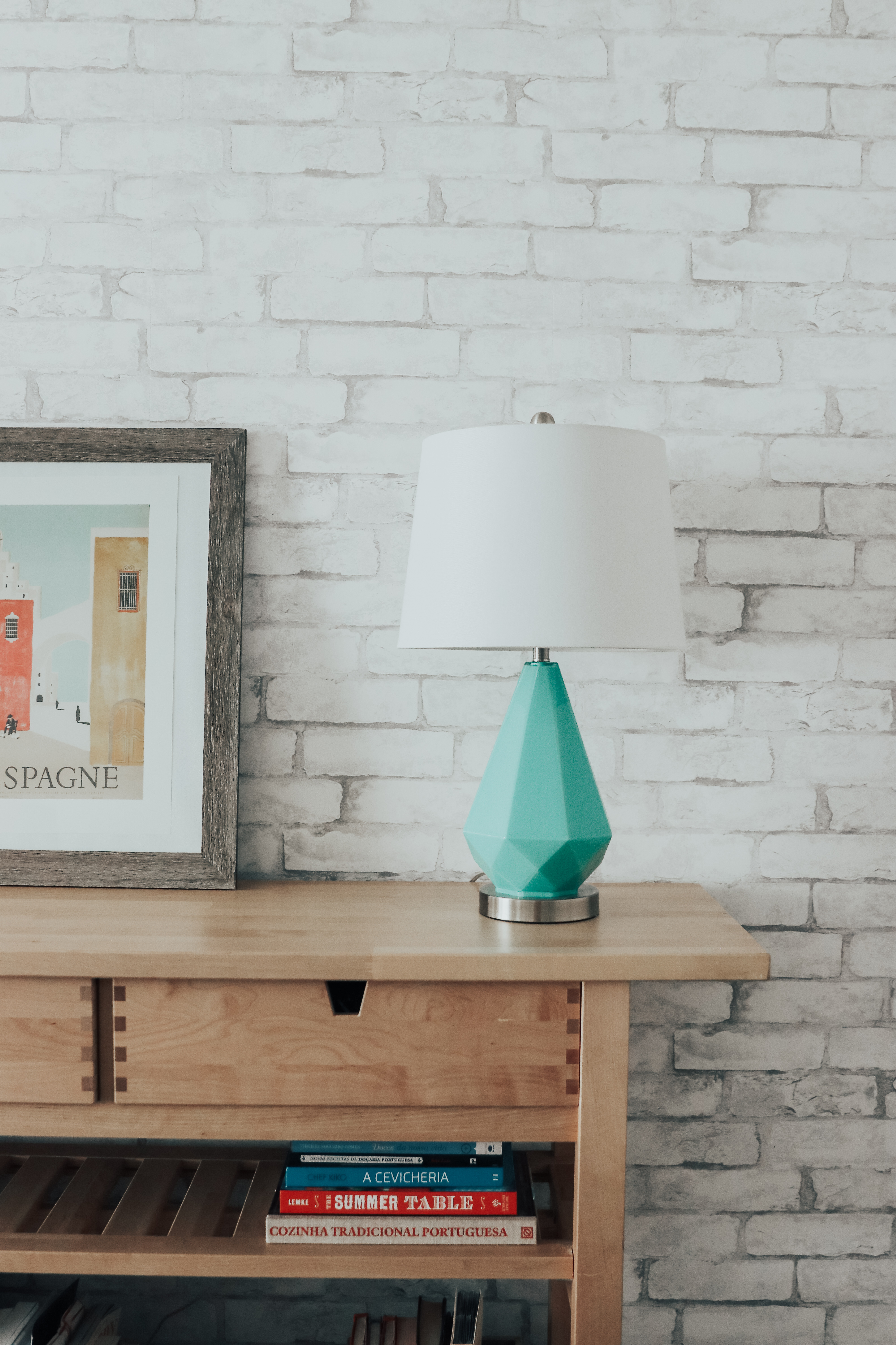 @anafreeworld's cover photo for 'Redecorating With Wallpops: Transforming our home!'