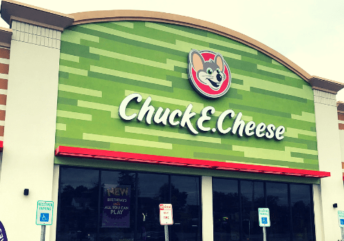 @journeytosahm's cover photo for 'Chuck E. Cheese Has a New Look!'