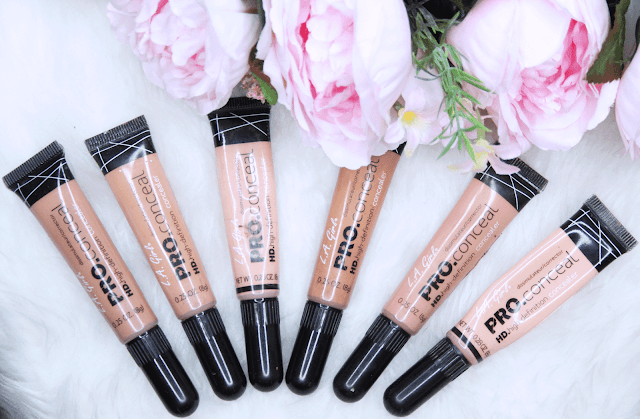 @beautybykamskouture's cover photo for 'Kams Kouture Makeup Artistry Blog: LA Girl Pro Concealer- Holy Grail Concealer | MAC Prolong Wear Concealer Dupe'