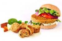 @ecovegangal's cover photo for 'Recipe & Review: Low Allergen Veggie Burgers from Hilary's'