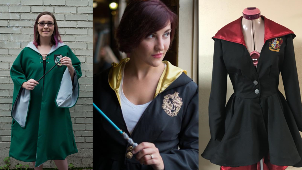 @plussizenerd's cover photo for 'Plus Size Harry Potter Robes'
