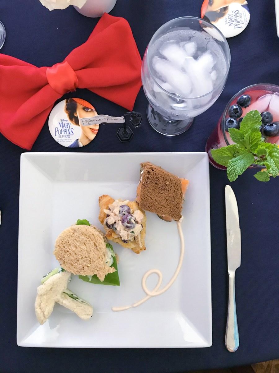 @therosetable's cover photo for 'Tea Sandwich Flight'