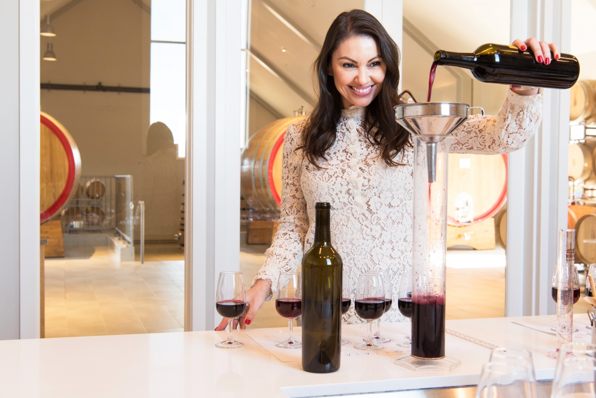 @sondrabarker's cover photo for 'Make Your Own Wine Blend Straight From the Barrel at Bottaia Winery - CUISINE AND TRAVEL'