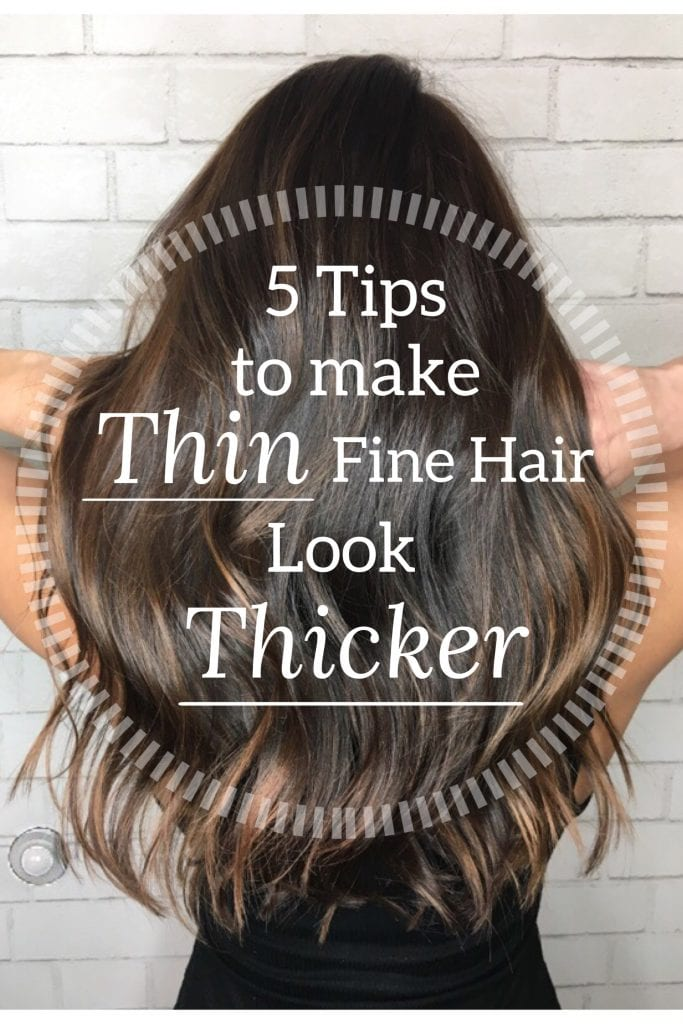 @sondrabarker's cover photo for '5 Tips to Make Thin Fine Hair Look Thicker'