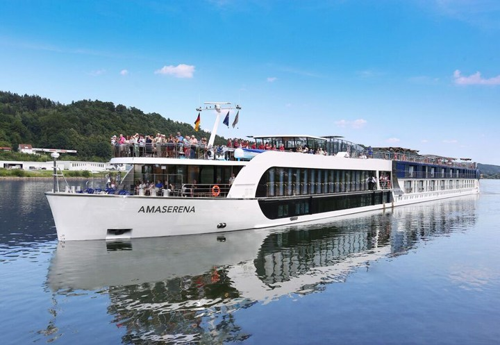 @hiclassmag's cover photo for 'Sailing the Danube on The AmaSerena - Hi Class Living Magazine'