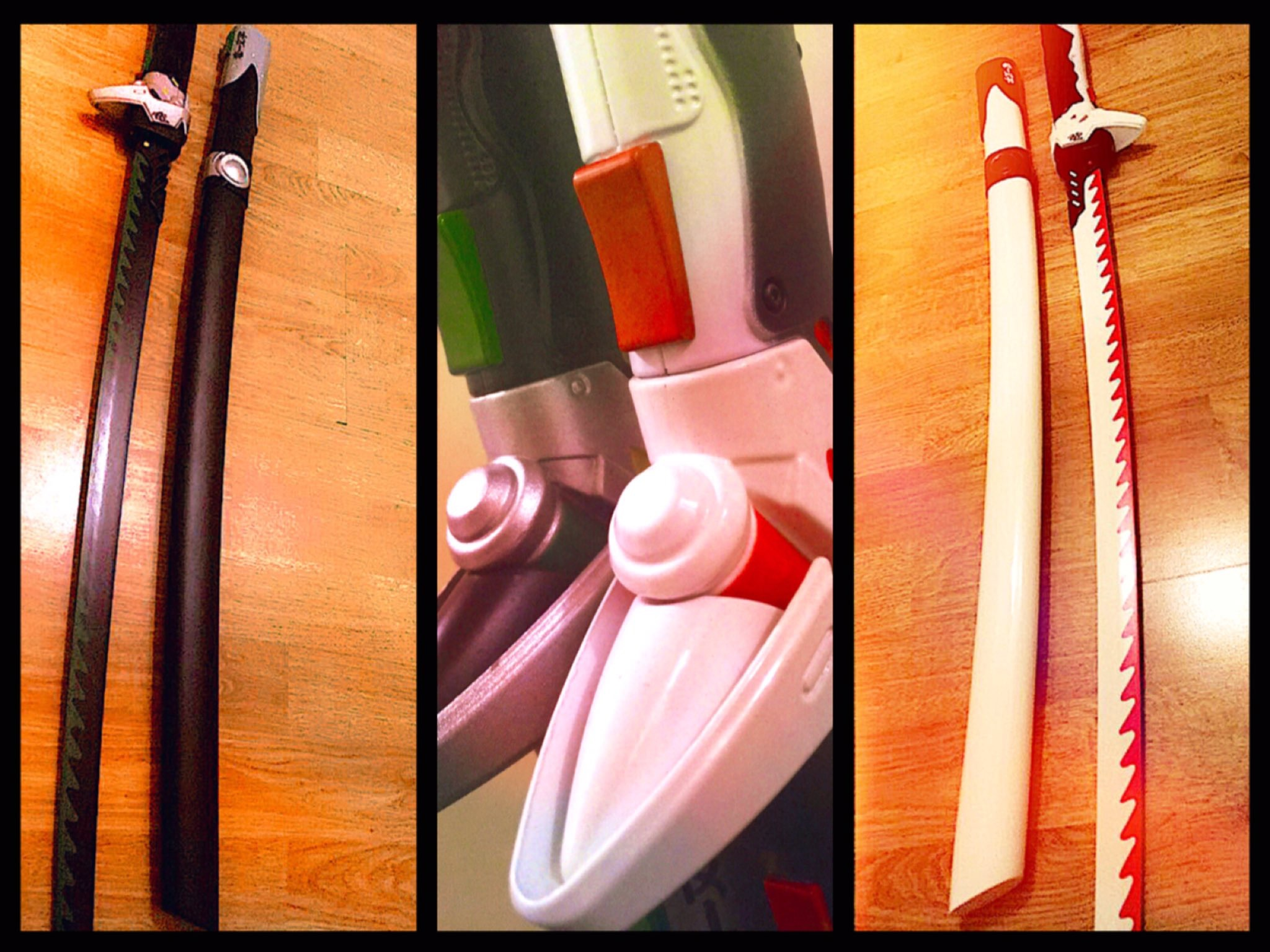 @geeketv's cover photo for 'Epic Real Life Genji Sword from Kolour Co!   Geek & Gaming News  GEEKETV'