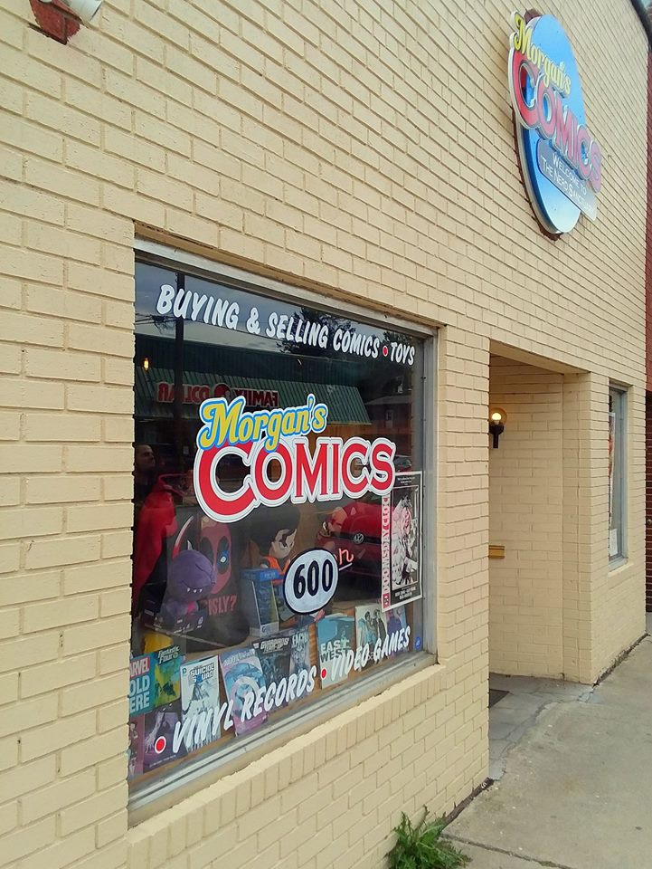 @geeketv's cover photo for 'Welcome to the Nerd Sanctuary! a look inside Morgan's Comics | Geek & Gaming News| GEEKETV'