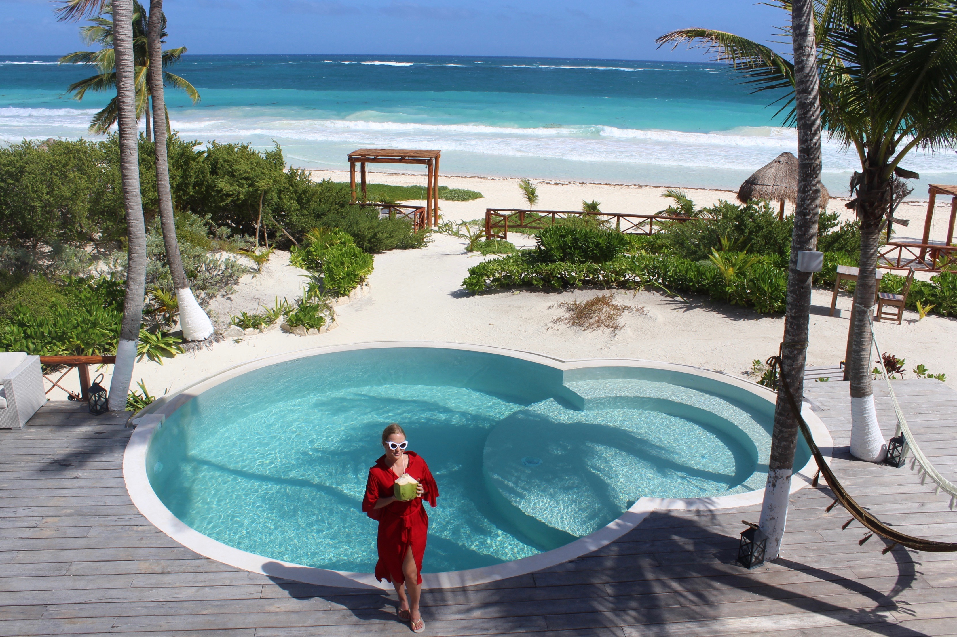 @tenesommer's cover photo for 'Mexico Blog #6: Playaakun Luxury Villa in Tulum | Marbella Blog by Tene Sommer'
