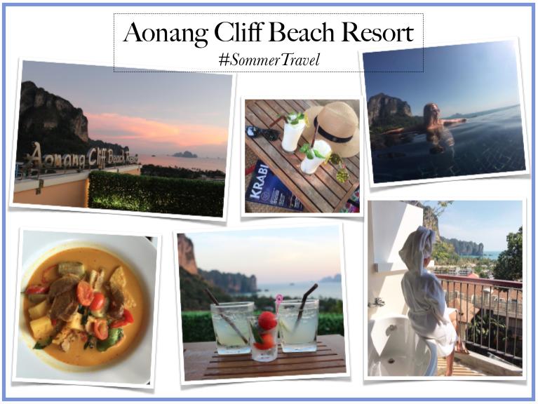 @tenesommer's cover photo for 'Thailand Travel Blog #6: Aonang Cliff Beach Resort | Marbella Blog by Tene Sommer'