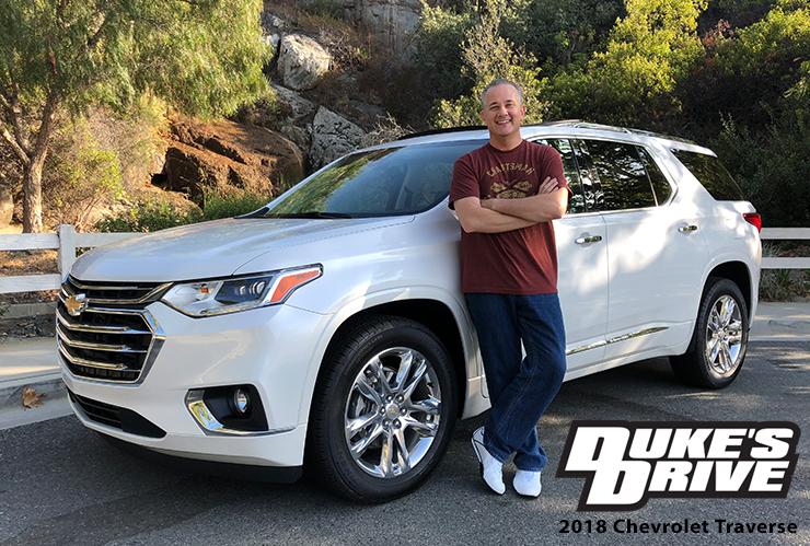 @chrisduketv's cover photo for 'Duke's Drive: 2018 Chevrolet Traverse Review - Chris Duke'
